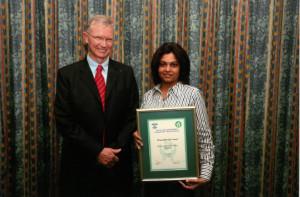RC Award Finalist 2008 Degussa Peroxide Africa